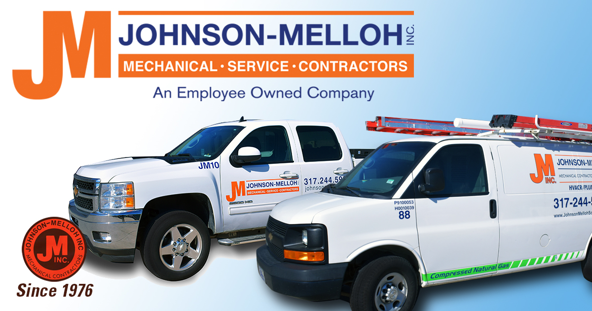 Johnson Melloh, since 1976. Mechanical service, maintenance and contracting, Indianapolis